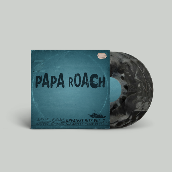 Papa Roach - Greatest Hits Vol. 2 The Better Noise Years Deluxe Black & White Explosion Vinyl (PRESALE 03/19/21)