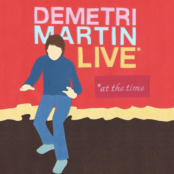 Demetri Martin- Live (At The Time) CD