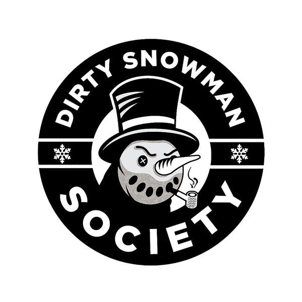 Dirty Snowman Society - Logo Sticker