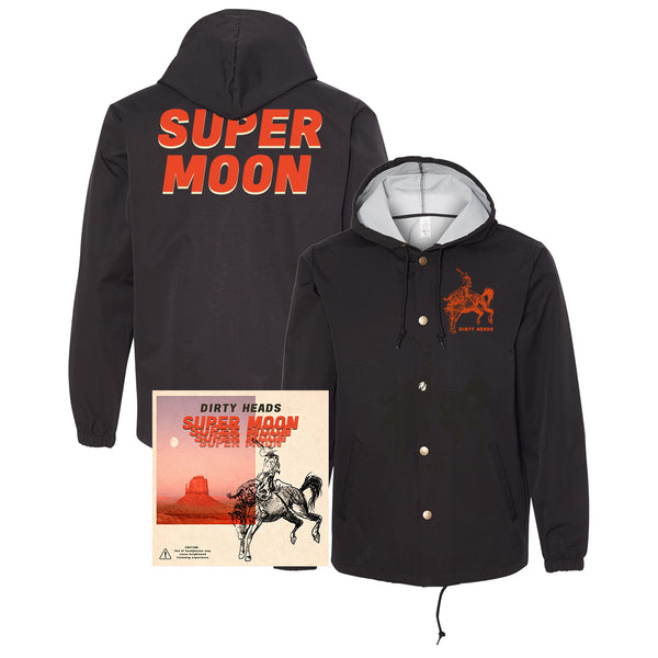 Dirty Heads - Super Moon Vinyl + Wind Breaker Bundle (PRESALE)