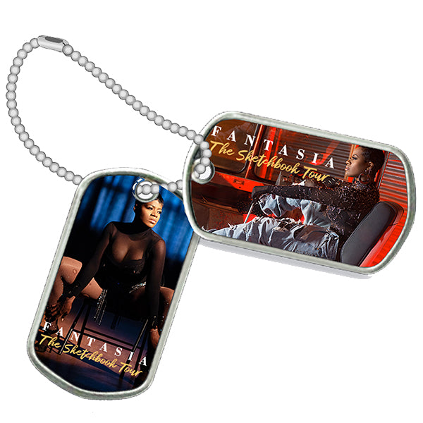 Fantasia - Sketchbook Dog Tag