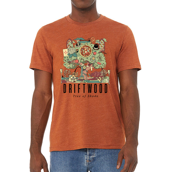 Driftwood - Tree Of Shade Tee (Orange)