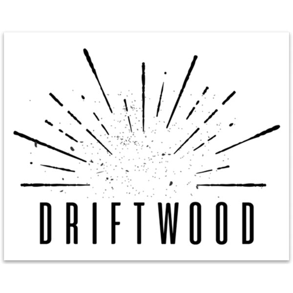 Driftwood - Burst Sticker