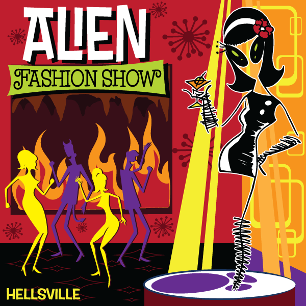 Alien Fashion Show - Hellsville CD (2019)
