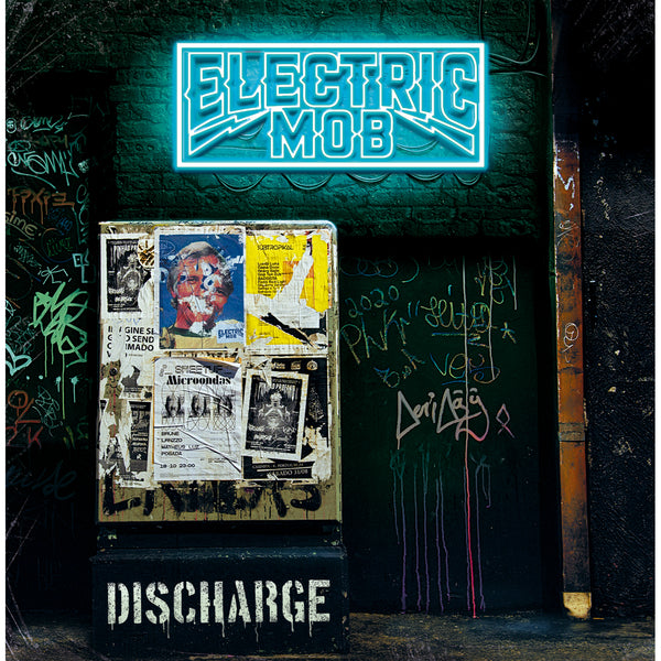 Electric Mob - Discharge CD (PRESALE 06/12/20)