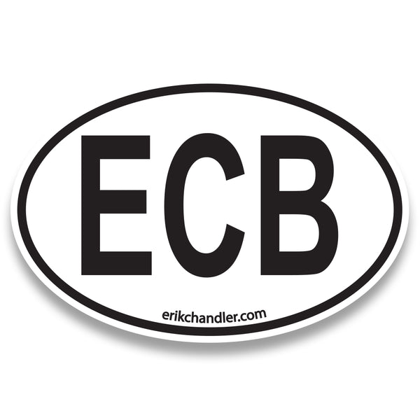 Erik chandler band ecb sticker