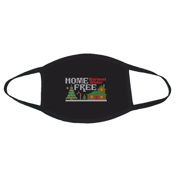 Home Free - Warmest Winter Ugly Christmas Sweater Face Mask