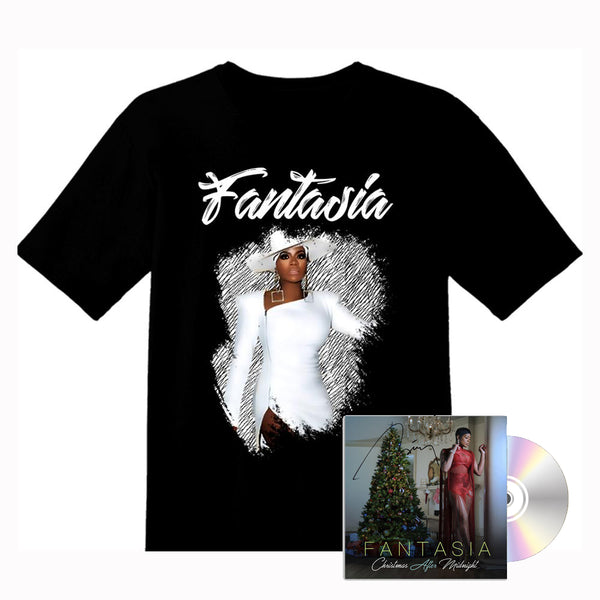 Fantasia - Signed Christmas After Midnight CD and Tour Tee Bundle