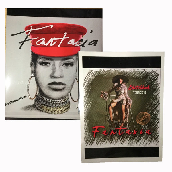 Fantasia - Sketchbook Tour Book