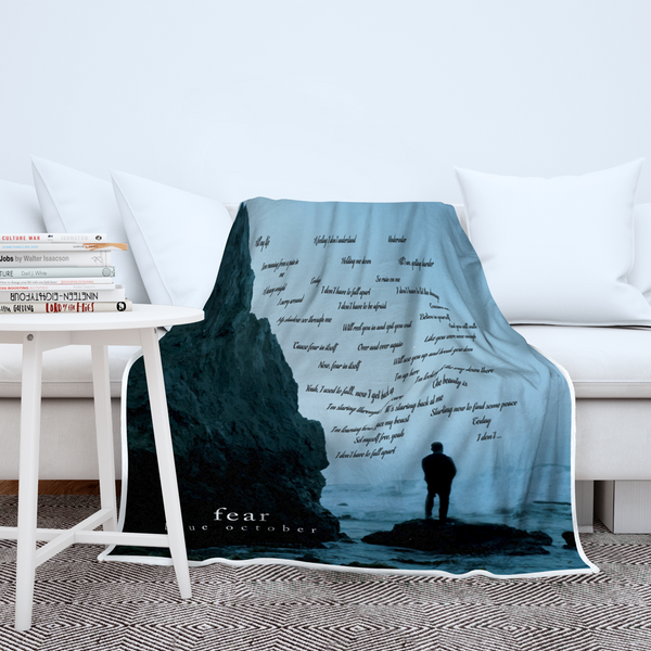 NEW: Blue October - Premium Plush Fear Throw Blanket