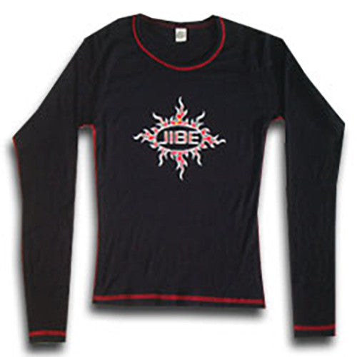 JIBE - Fire Long Sleeve Women's Shirt