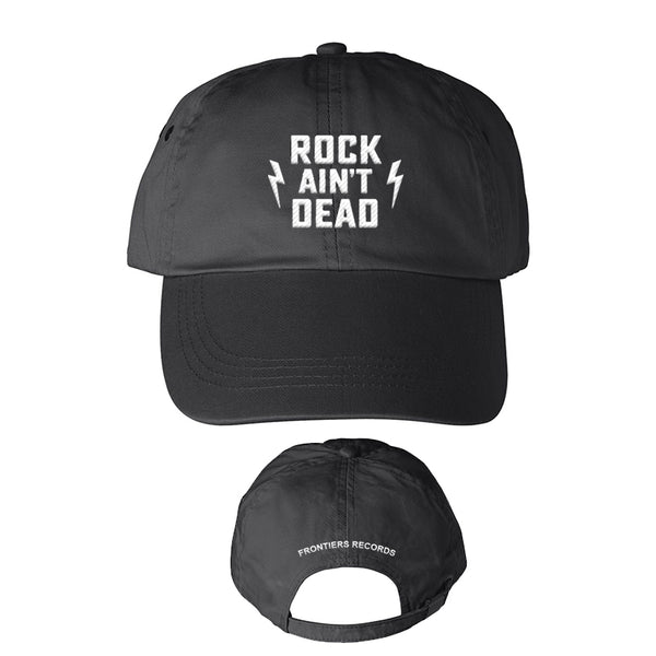 Frontiers Records - Rock Ain't Dead Embroidered Hat (PRESALE)