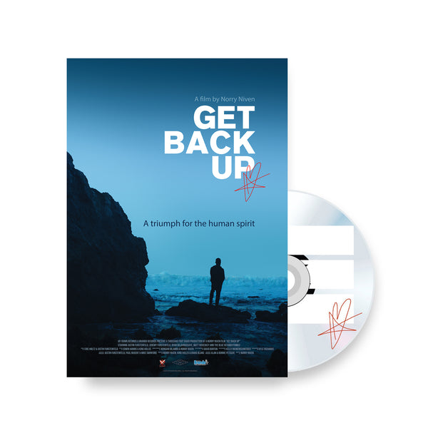 Blue October - Get Back Up Documentary Autographed DVD/Blu-ray (PRESALE NOV 2020)