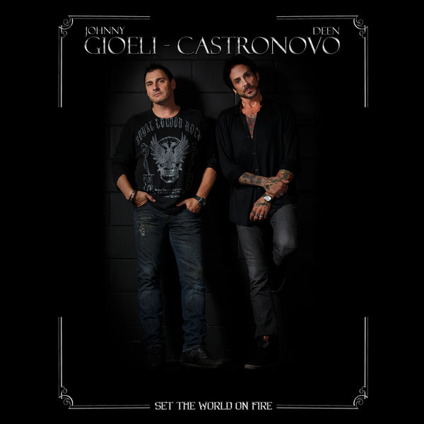Gioeli - Castronovo - Set The World On Fire CD (PRESALE - EARLY OCT)