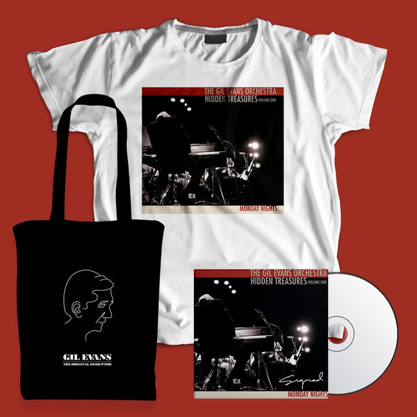 Gil Evans - Signed CD + T-shirt + Tote Bundle