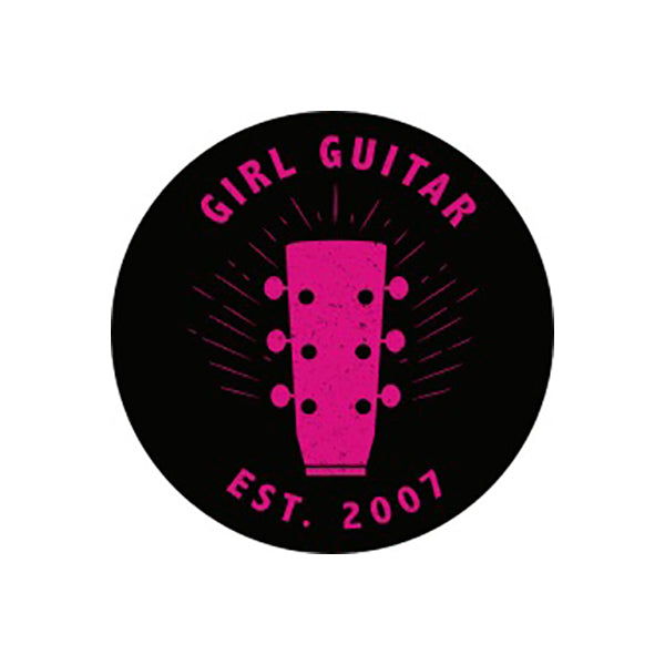 Girl Guitar - Est 2007 Button