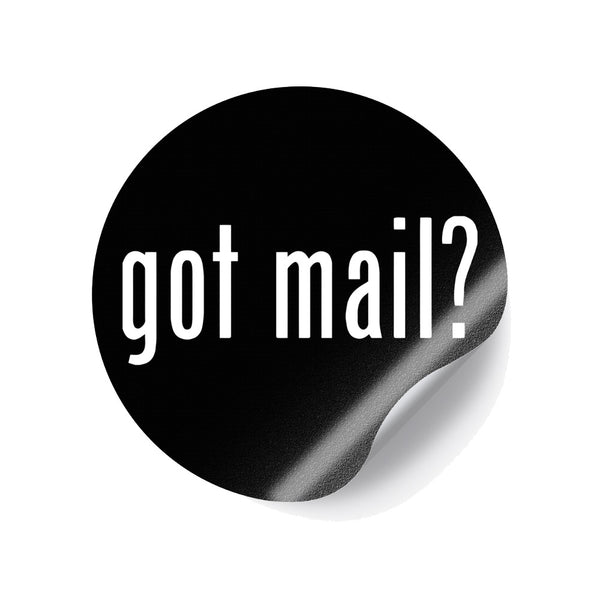 Lightstone Records - Got Mail Circle Sticker