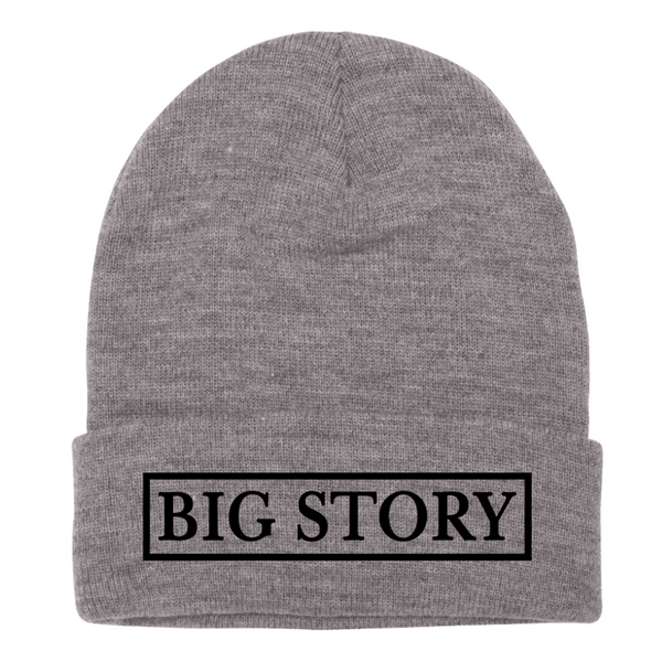Big Story - Beanie - Grey (PRESALE LATE FEB 2021)