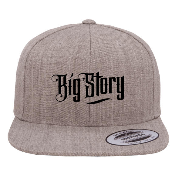 Big Story - SnapBack Logo Hat - Grey (PRESALE MID MARCH 2021)