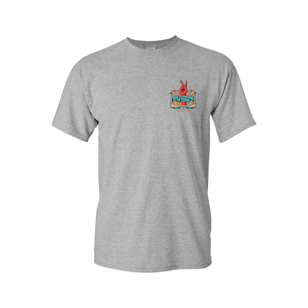 Texas International Pop Festival - Logo Tee (Heather Grey)