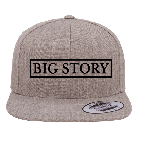 Big Story - SnapBack Hat - Grey (PRESALE MID MARCH 2021)