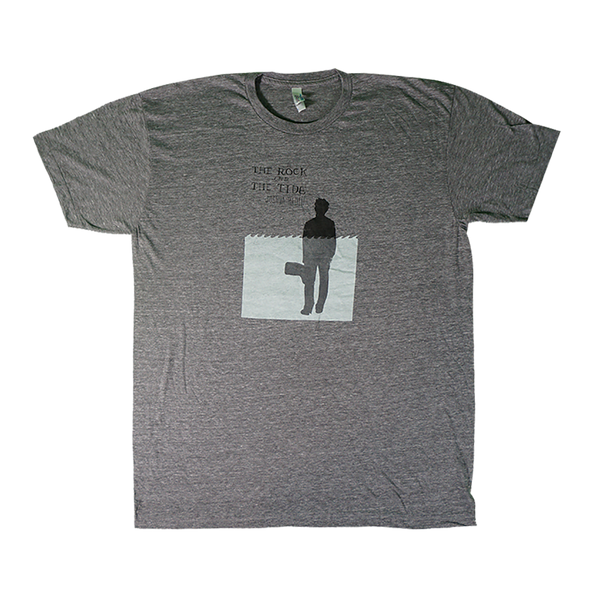 Joshua Radin - The Rock And The Tide Tee (Grey)