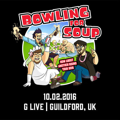 Bowling For Soup - UK Live Show Download - 10/02/16 Guildford