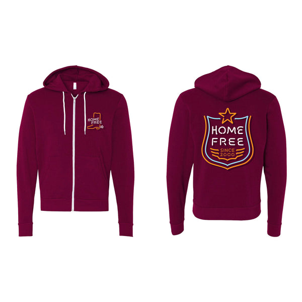 Home Free - Neon Boot Hoodie