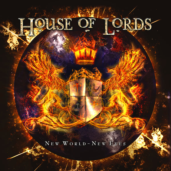 House Of Lords - New World - New Eyes CD (PRESALE 06/12/20)