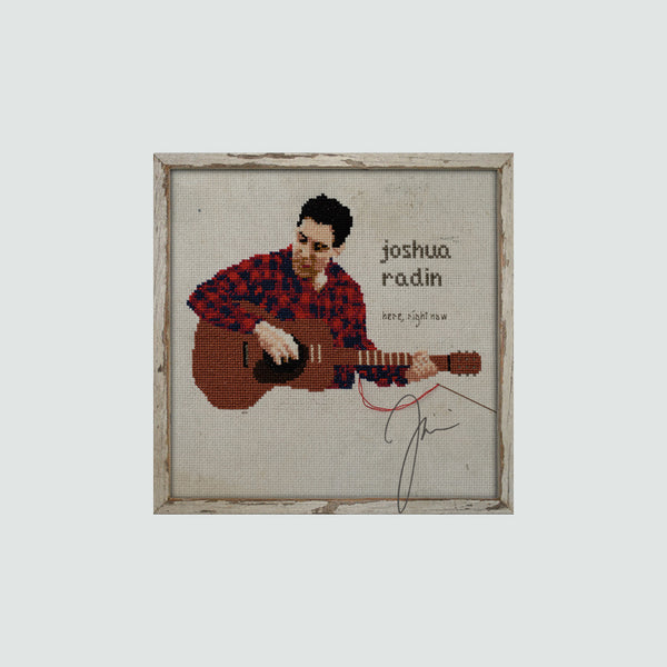 Joshua Radin - Here, Right Now Autographed CD