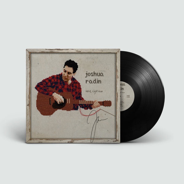 Joshua Radin - Here, Right Now Autographed Vinyl