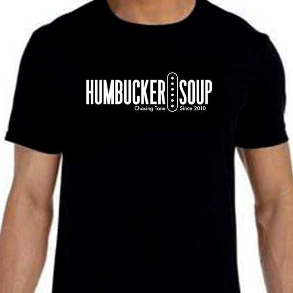 Humbucker Soup - Black Logo Tee