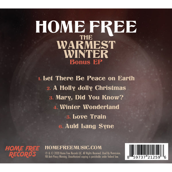 Home Free - The Warmest Winter Bonus EP (PRESALE Ships 02/05/21)