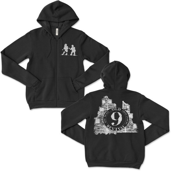 The Old Revival - 9 Meals From Anarchy Zip Up Hoodie