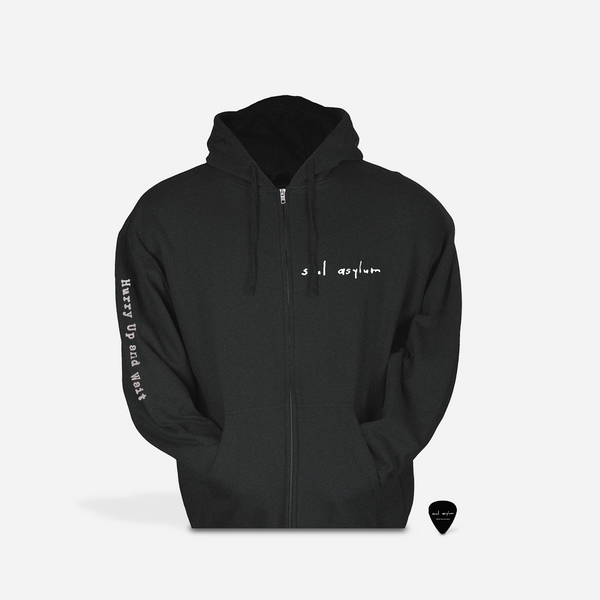 Soul Asylum - Hurry Up and Wait Zip Up Hoodie (PRESALE 04/17/20)
