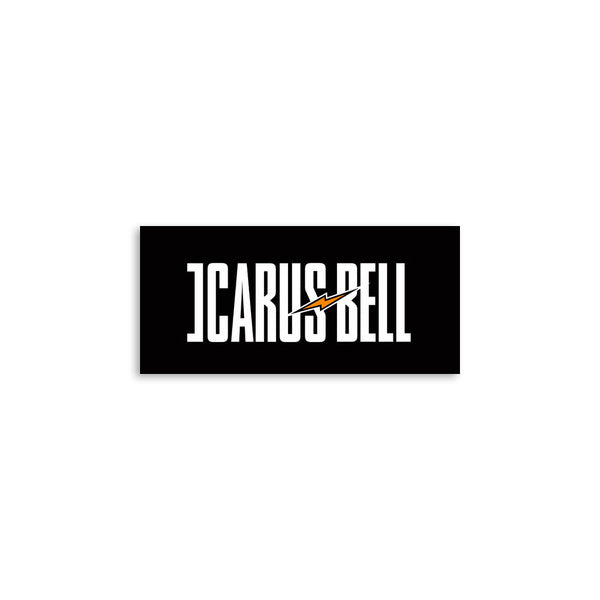 Icarus Bell - Black Logo Sticker