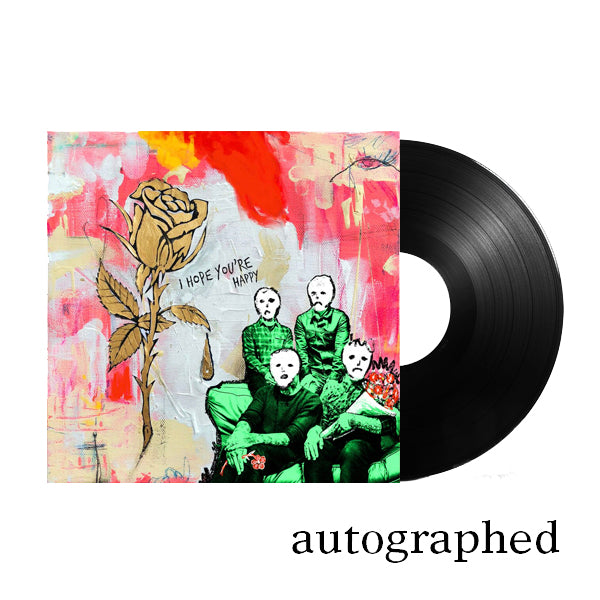 Blue October - I Hope You're Happy Autographed LP