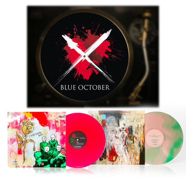Blue October - Vinyl + Slipmat Bundle