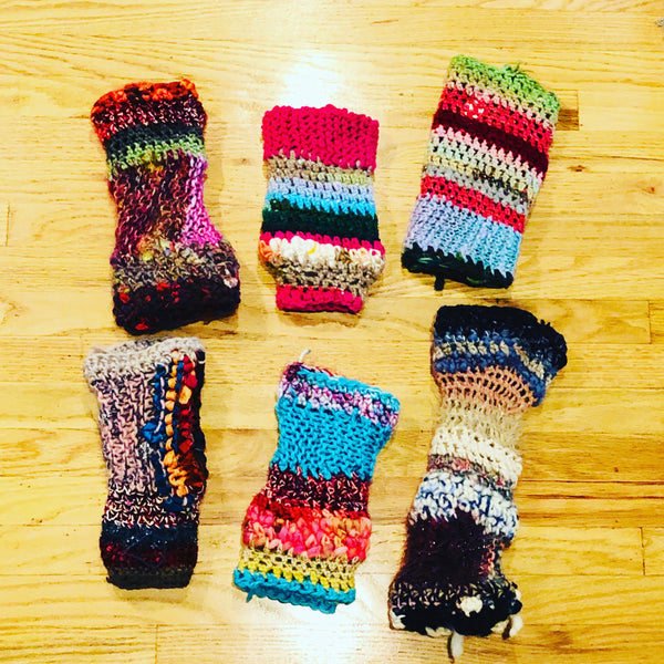 Moon Unit - MOONUKNITS™ - Mismatched Legwarmers