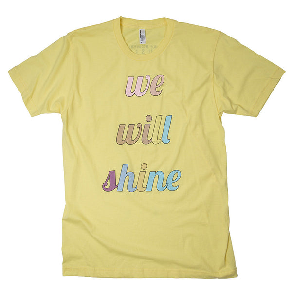 Mike Romero Music - We Will Shine Tee (Yellow)