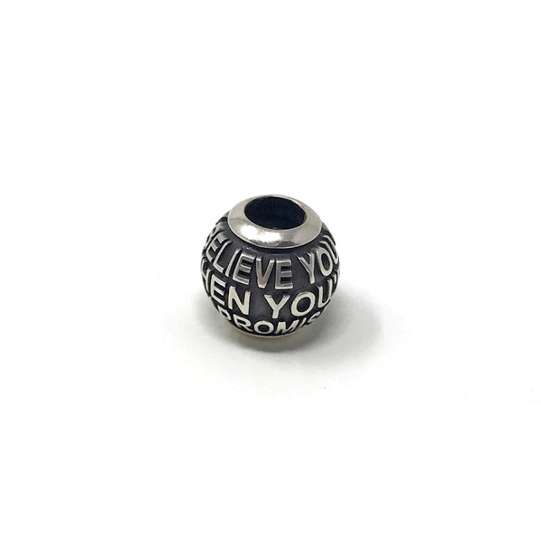 Blue October - For My Brother Lyric Charm Bead