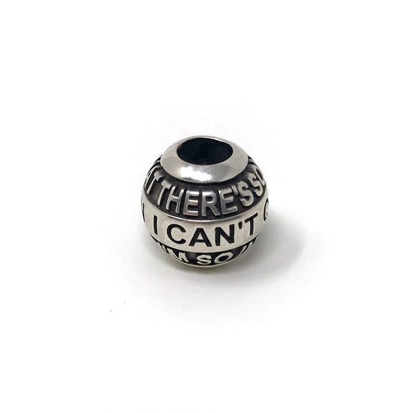 Blue October - Calling You Lyric Charm Bead
