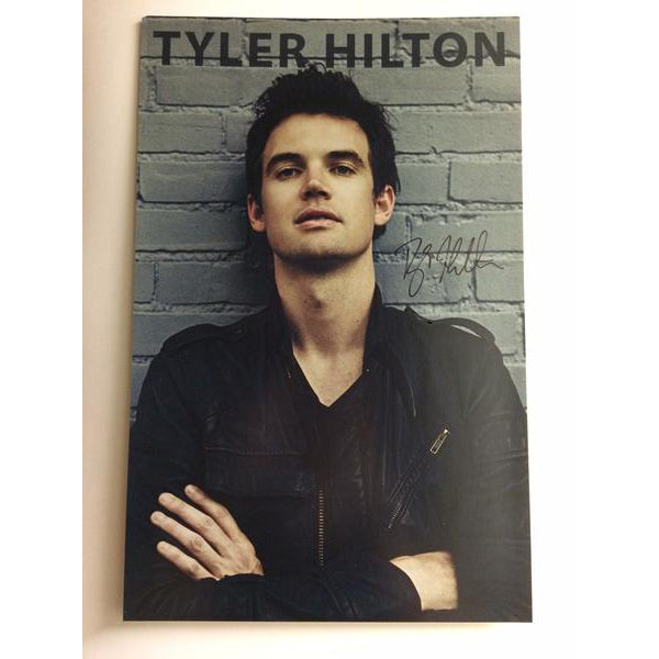 Tyler Hilton - Signed Grey Brick Tour Poster