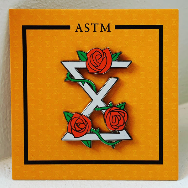 ASTM - Roses and Thorns Pin