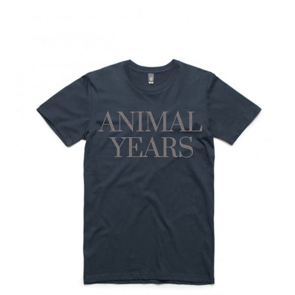 Animal Years - Navy Logo Tee