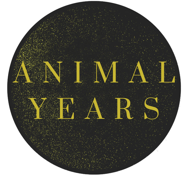 Animal years logo sticker