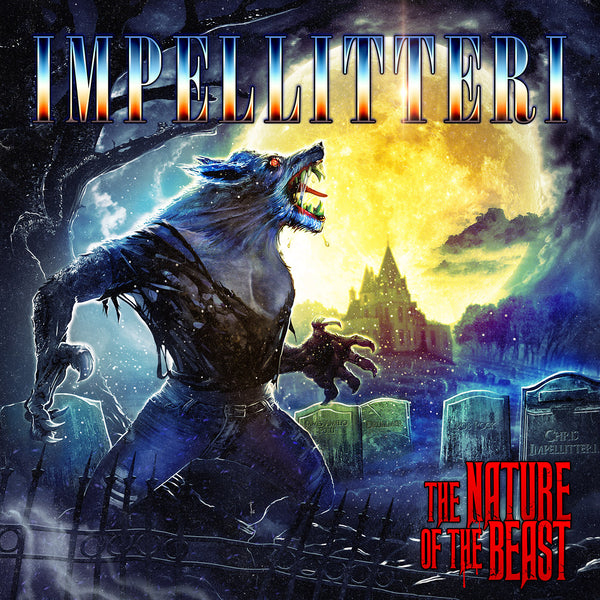 Impellitteri - The Nature Of The Beast CD (PRESALE - EARLY OCT)