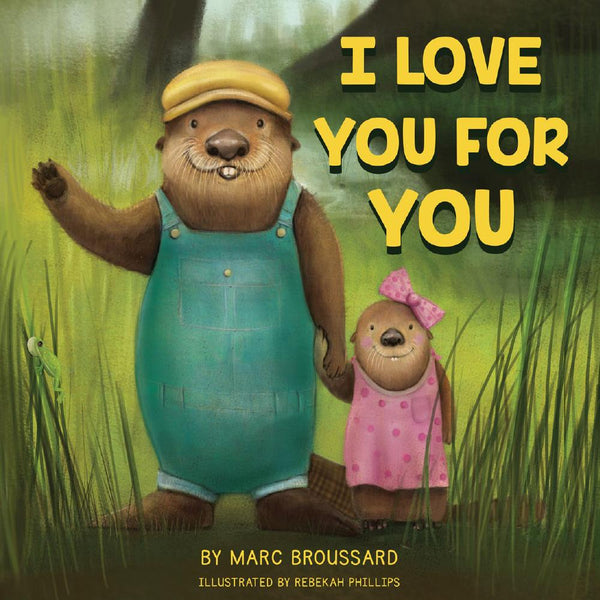 Marc Broussard - Autographed I Love You For You Children's Book