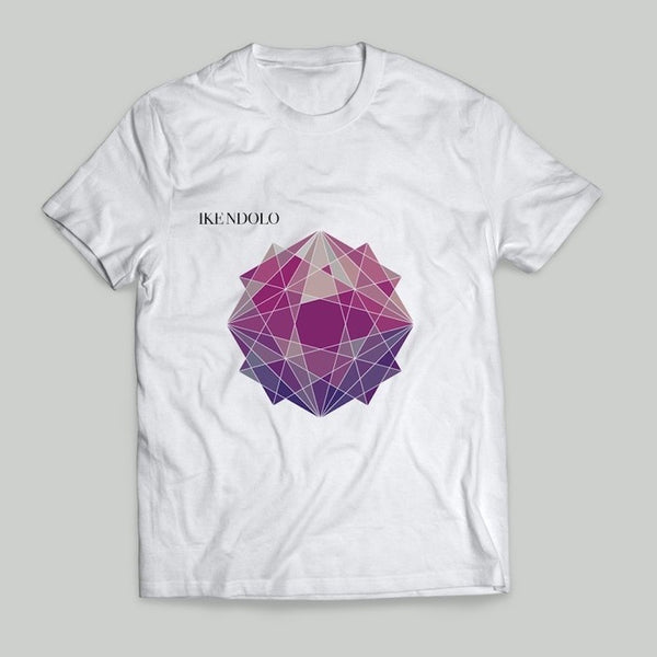 Ike Ndolo - Geometric T-shirt (White)