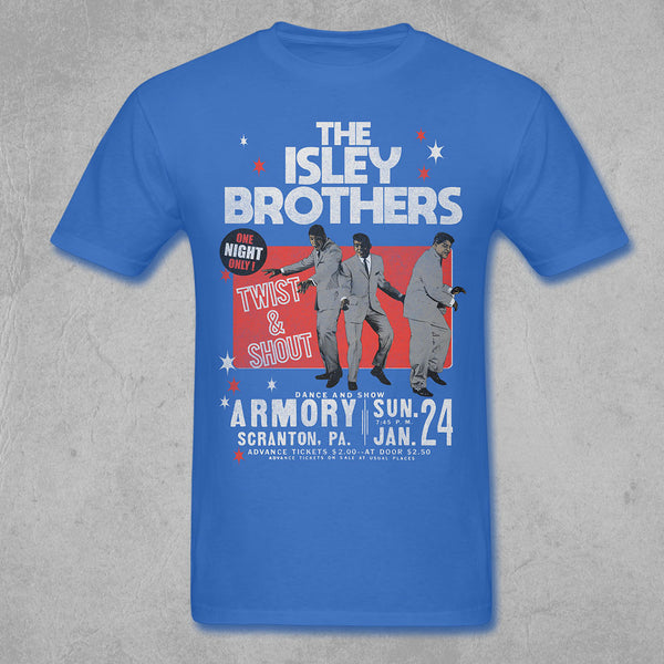 The Isley Brothers - Vintage Twist and Shout Tee